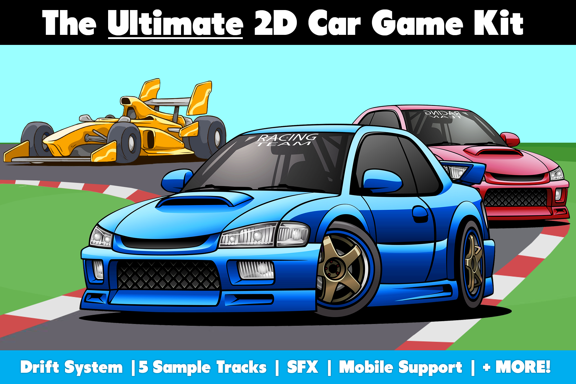 Released The Ultimate 2d Car Game Kit Unity Forum